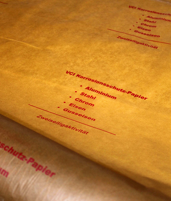 Papier antykorozyjny (VCI)