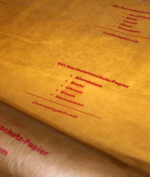 Anti-corrosive paper (VCI)