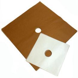 Siliconized paper